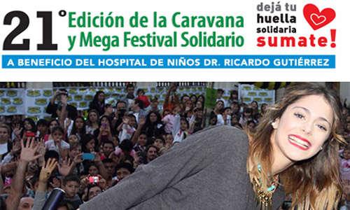A mal tiempo buena cara: partió desde boedo la 21º Edición de la Caravana y Mega Festival Solidario AMCA