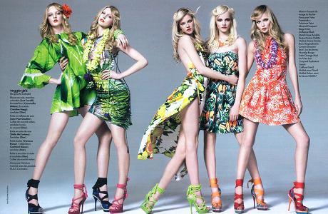 Verano a pura moda, Colores llamativos y diseños  provocativos 2016