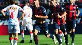 San Lorenzo sumó otra alegría en el clásico ante Huracán y acortó distancias camino a la punta