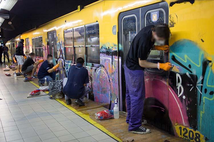 Grafiteros del Subte
