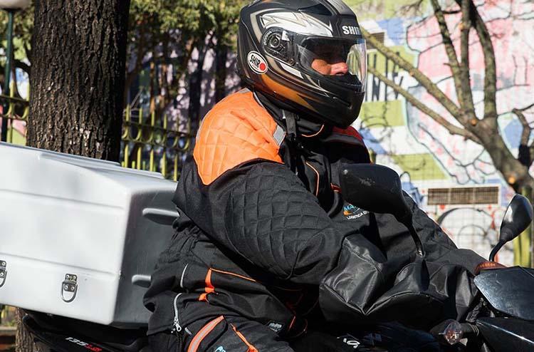 Deliverys en moto