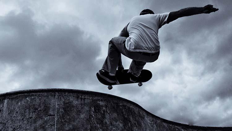 La vuelta de los skate y una temporada que propicia la practica