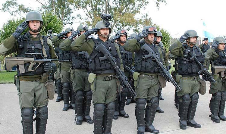 Entrenan a personal de las fuerzas para operar en barrio peligrosos