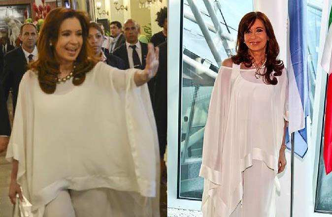 Cristina Kirchner de verdad ¿ se viste tan bien?