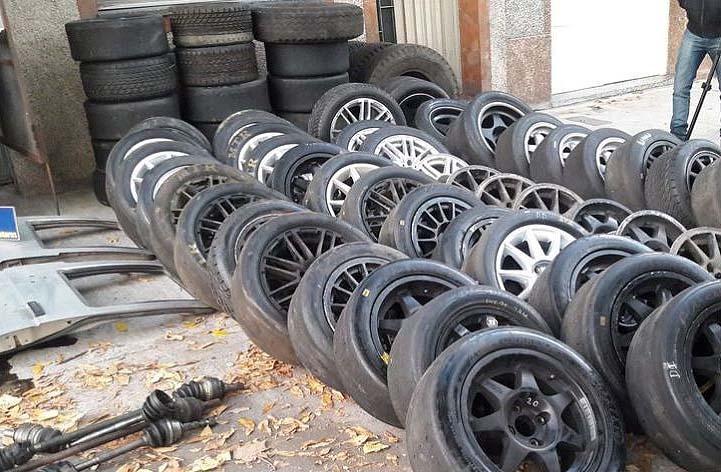 Desarmaderos de autos de alta gama, la nueva táctica de los ladrones barriales