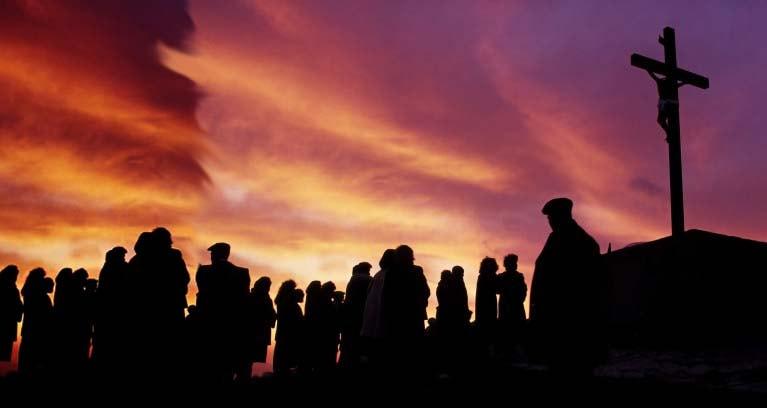 El recuerdo y la religiosidad fueron lo protagonistas en Semana Santa