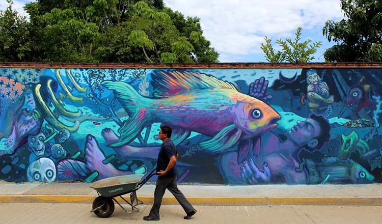 Los murales de otoño ya visten la Ciudad con estilo!