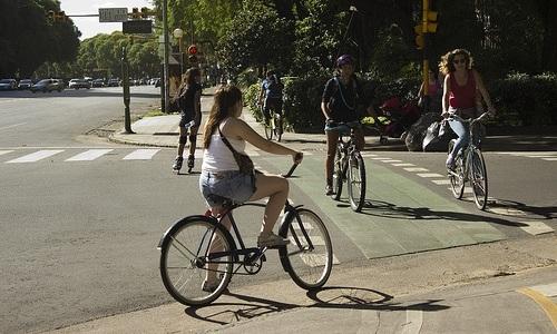 Bici, peatones, tránsito y convivencia