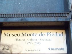 museo monte piedad