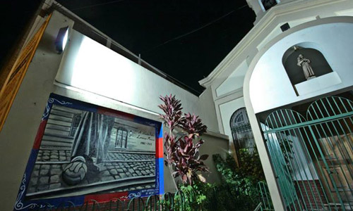 "Un mural ""donde nació el Ciclón"""