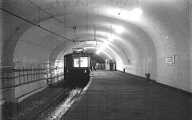 Imagen de la estación BOEDO a partir de 1944