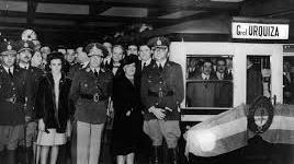 """Inauguración Línea """"E"""" el 20 de junio de 1944"""