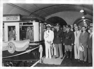 Inauguración de la estación BOEDO 16 de diciembre de 1944