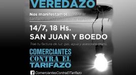 Comerciantes contra el Tarifazo / Veredazo en San Juan y Boedo