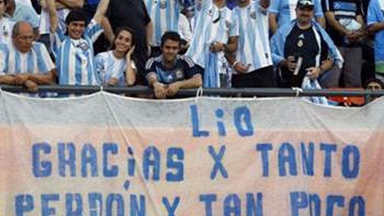 Messi, no te vayas!