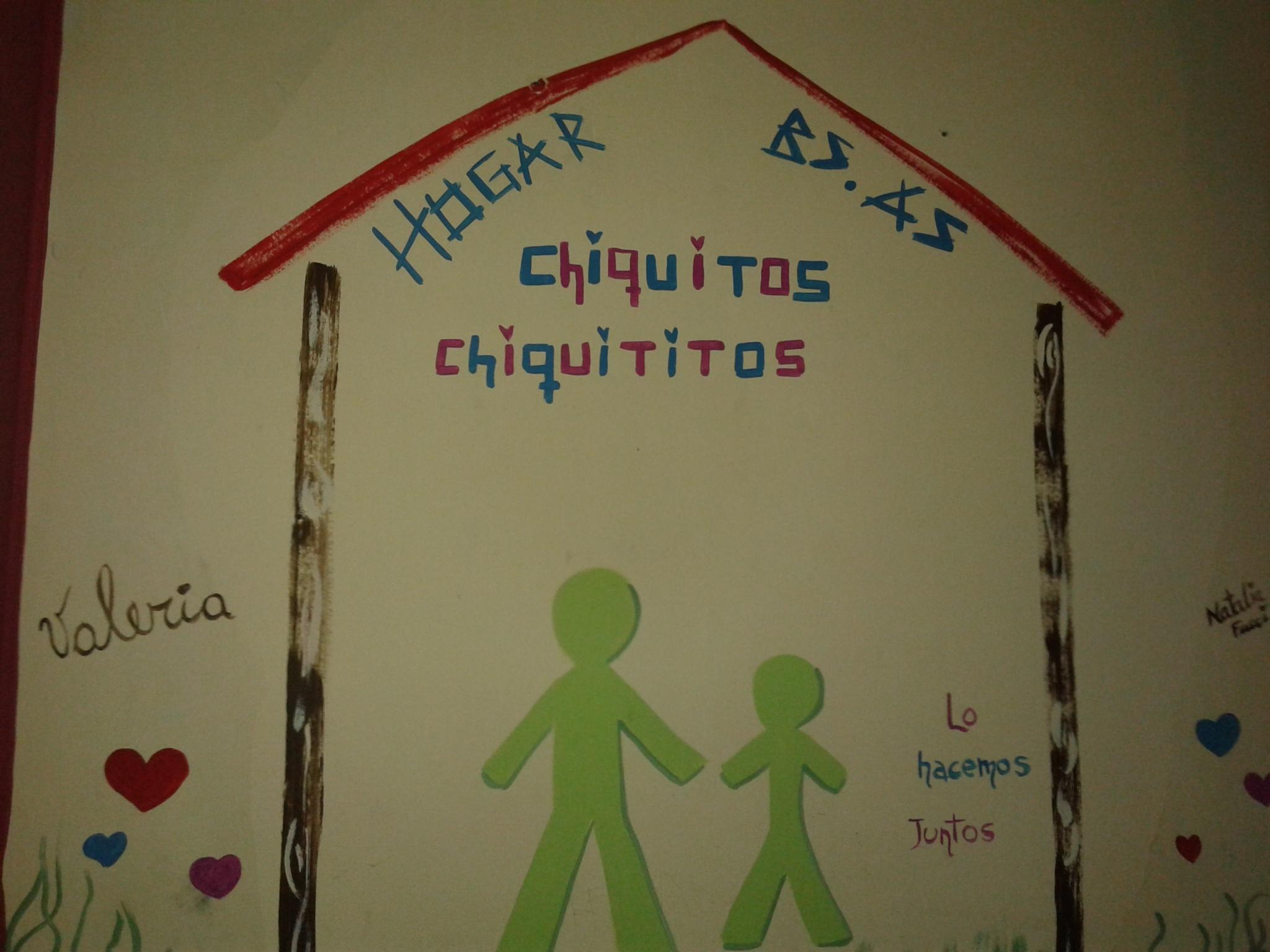 """Visita de las Damas del Abanico al Hogar """"CHIQUITOS"""""""