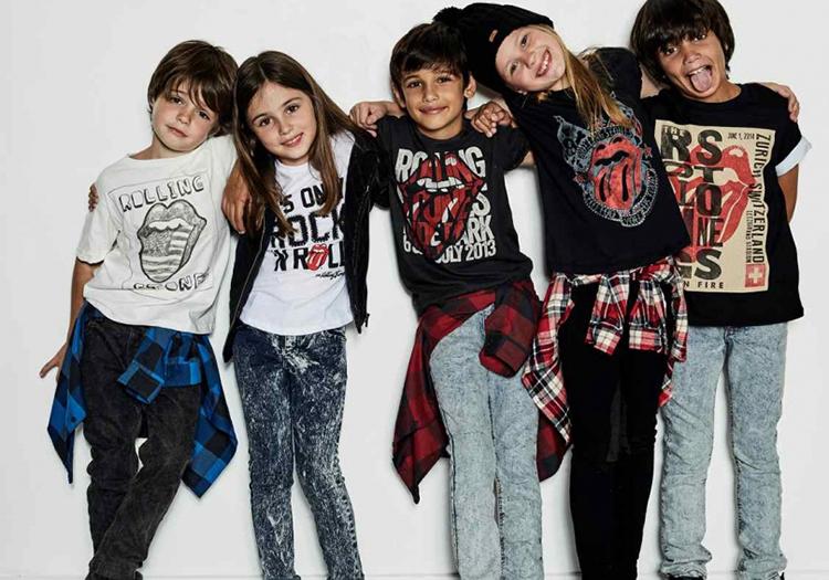 La moda también disponible para lo más chicos