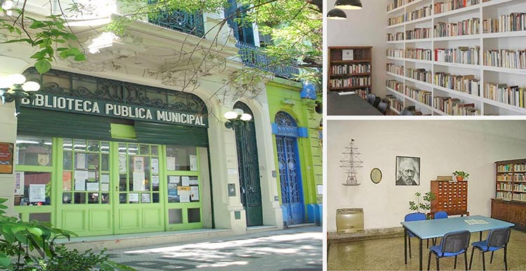 El incalculable valor cultural de la Biblioteca Miguel Cané.