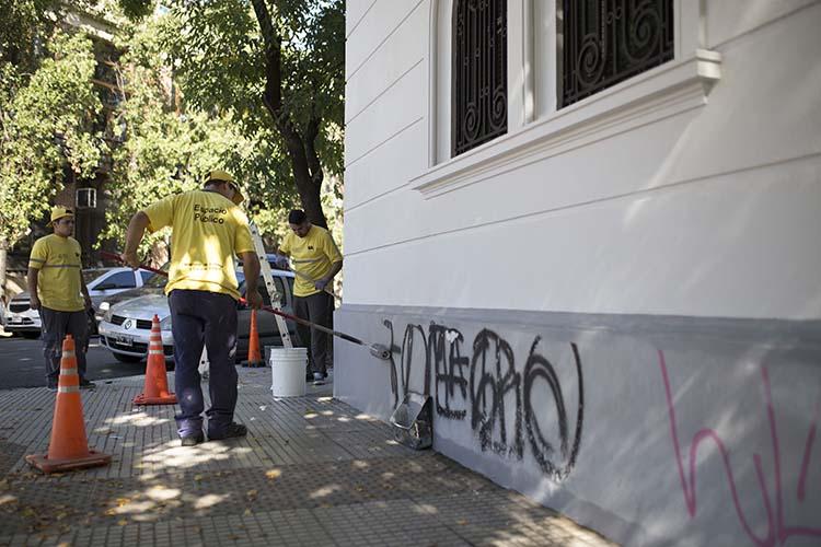 Grafitis, el trabajo detrás de escena en la gran Ciudad