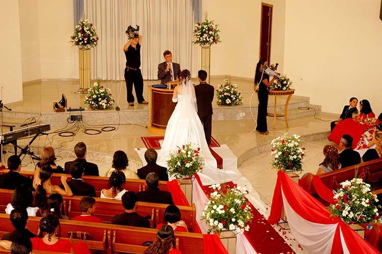 Las bodas religiosas, cosa del pasado
