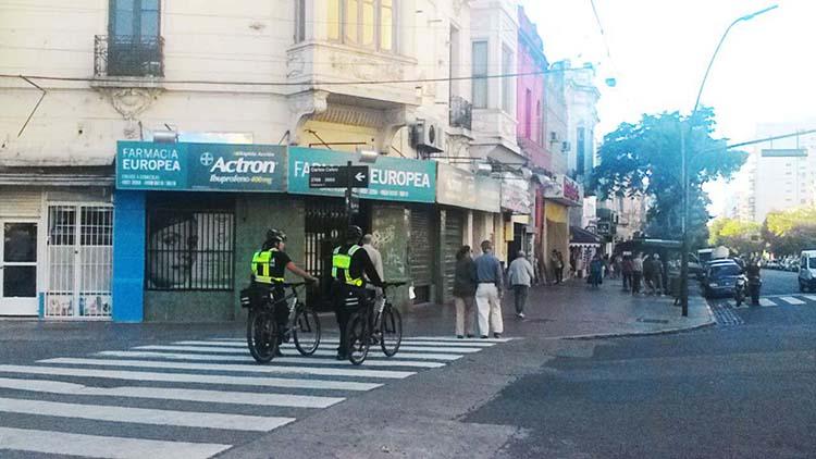 Refuerzan la presencia policial en avenida Boedo