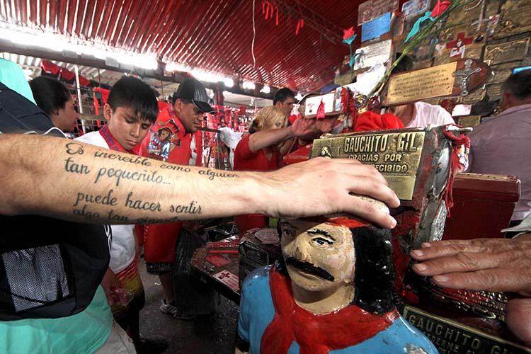 Argentina un país religioso que venera a los Santos
