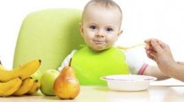 La importancia de la alimentación en la edad temprana