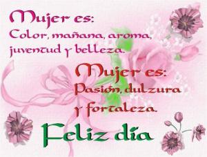 Dia Internacional de la Mujer 8 de Marzo.