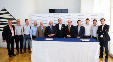 Foto referentes Banco Ciudad, FECOBA y CABA