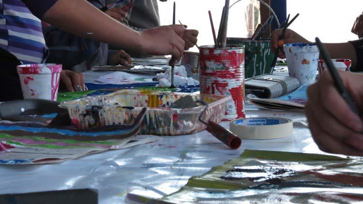 Cerró la inscripción a  los talleres artísticos en los barrios
