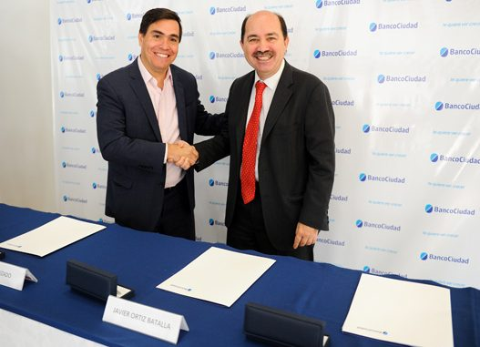 Acuerdo Banco Ciudad y Min. Producción Bonaerense