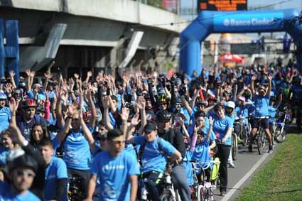 Banco Ciudad celebra 50.000 bicicletas en 50 cuotas sin interés