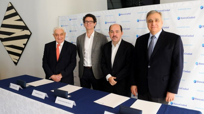 Banco Ciudad en alianza Pyme aval e intergarantias