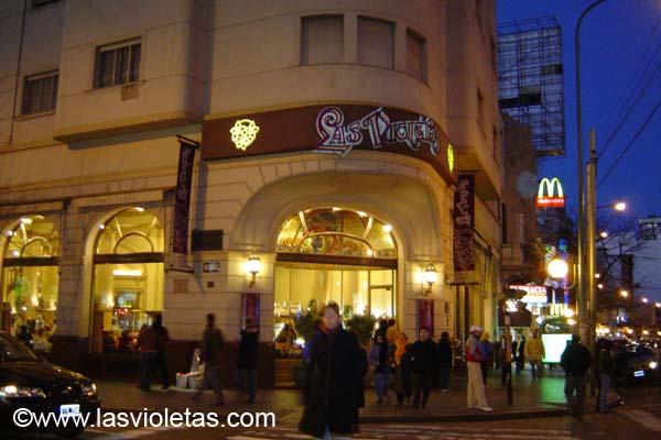 Las violetas en Almagro, historia y lujo por encima de la crisis