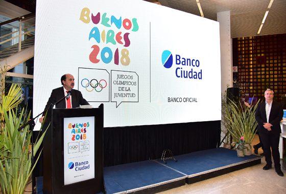 El Banco Ciudad inauguro muestra de los grandes Campeones Olímpicos Argentinos
