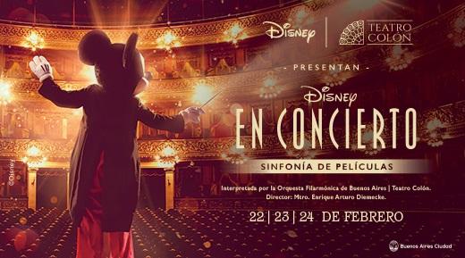 Banco Ciudad: Disney en concierto en el Teatro Colón