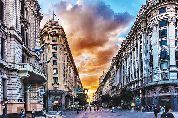 Buenos Aires: de Europa hasta Haití según el barrio.