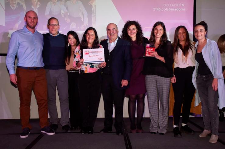 Banco Ciudad entre los mejores lugares para trabaar en argentina para mujeres 2019