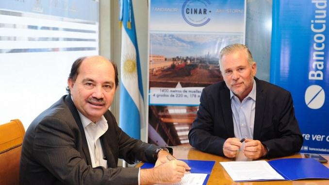 Banco ciudad y Tandanor firman acuerdo de cooperación para potenciar el desarrollo de la industria naval y metalmecanica