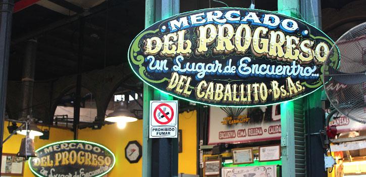 Comenzó la restauración del antiguo Mercado del Progreso de Caballito.