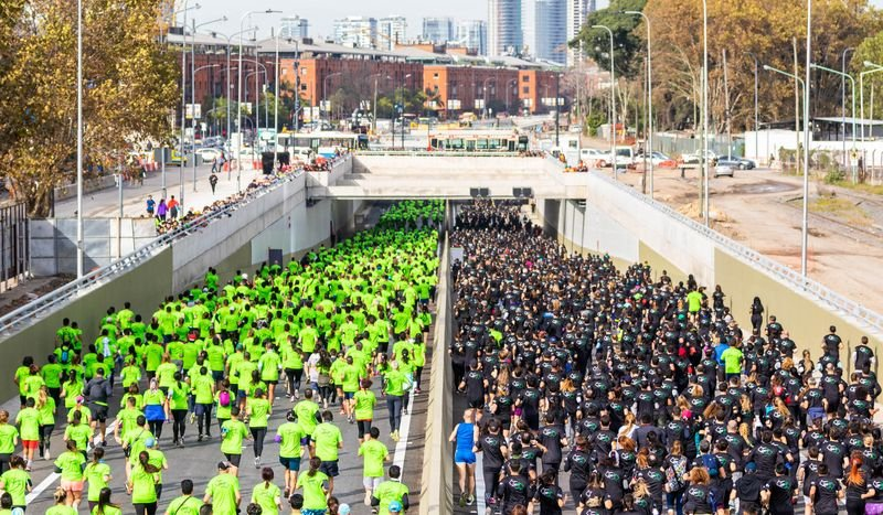 Se realizo la 5ta edición de la Carrera Ciudad Verde.