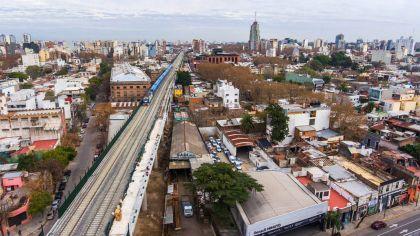 Inauguraron el Viaducto del tren San Martin
