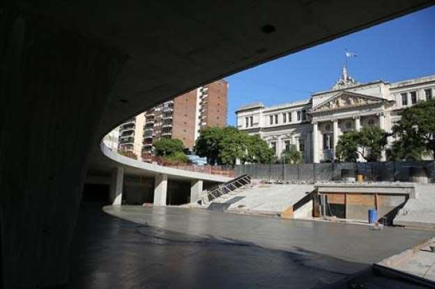 Terminaron las obras realizadas en la renovada Plaza Houssay