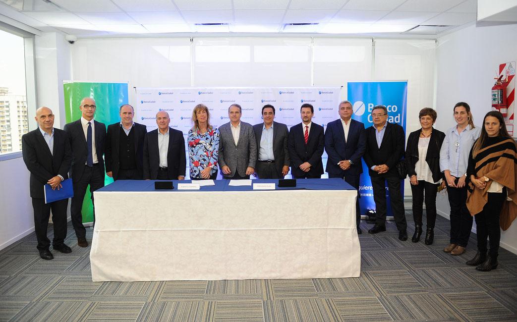 Banco Ciudad y Ceamse celebran convenio financiero y de sustentabilidad