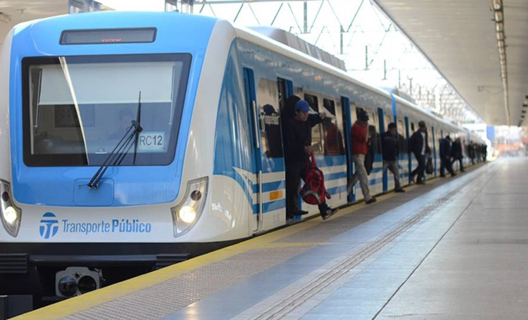 El tren argentino entre los más aglomerados del mundo