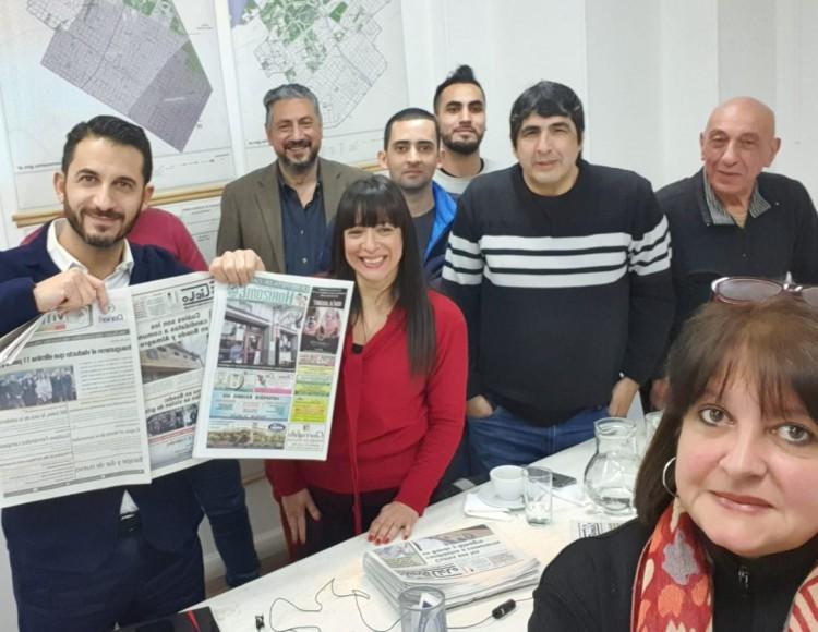 """Matías Tombolini: No se resuelve nada """"tomando cafecito""""."""