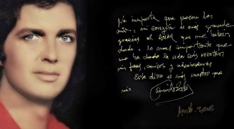 Murió Camilo Sesto, el cantante español
