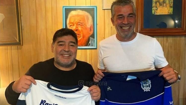 Diego Maradona confirmó que será el nuevo DT de Gimnasia