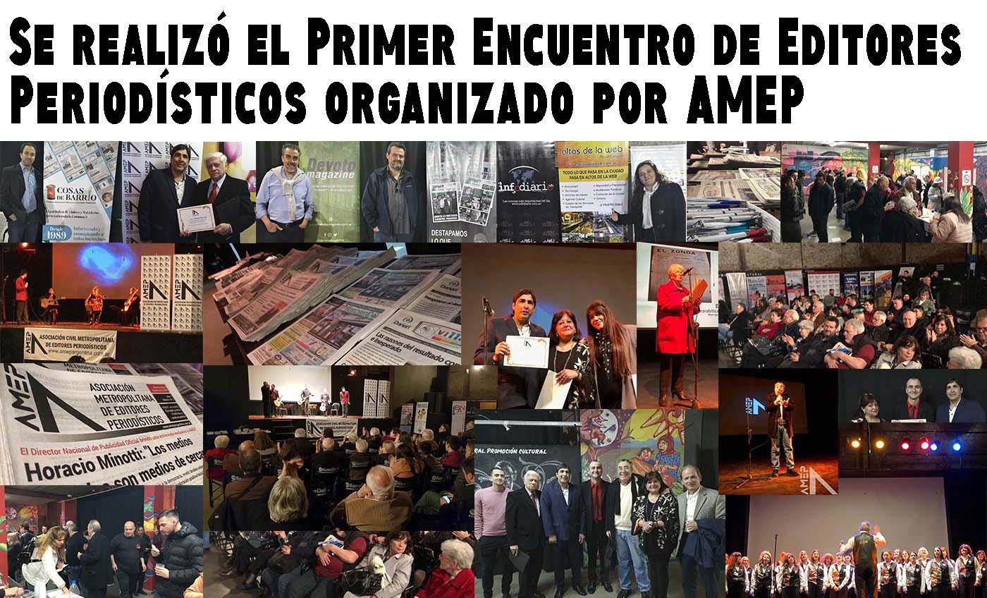 Se realizó el Primer Encuentro de Editores Periodísticos organizado por AMEP