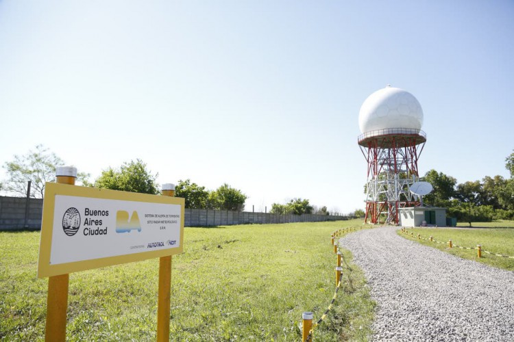 Un radar anticipará tormentas y granizo en cada comuna porteña